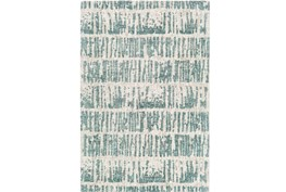 24X36 Rug-Stripe Boucle Mint