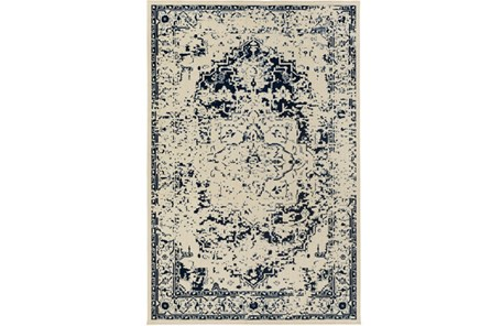 106X153 Rug-Khione Antique Indigo