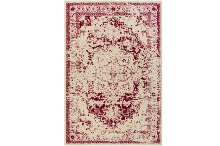 106X153 Rug-Khione Antique Raspberry