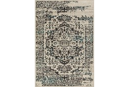 63X87 Rug-Khione Erased Traditional Grey/Teal