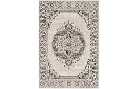 94X118 Rug-Khione Medallion Grey