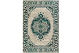 63X87 Rug-Khione Medallion Teal - Signature
