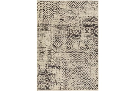 106X153 Rug-Khione Tribal Grey