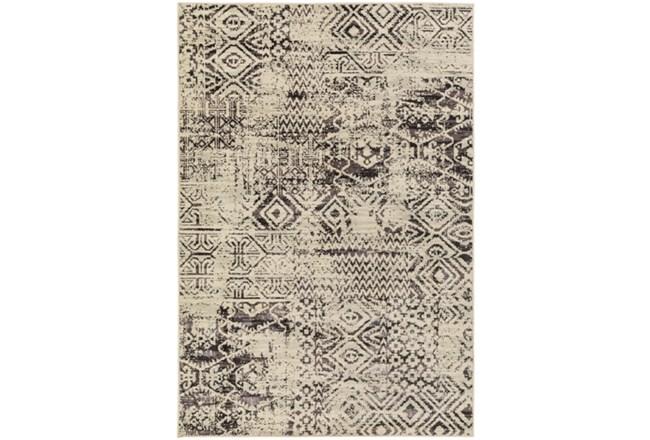 106X153 Rug-Khione Tribal Grey - 360