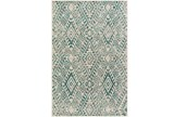 22X35 Rug-Khione Distressed Teal - Signature