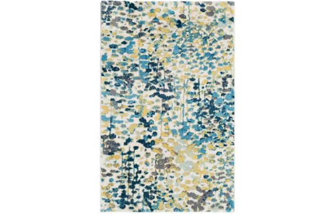 24X36 Rug-Fields Blue/Yellow - 360