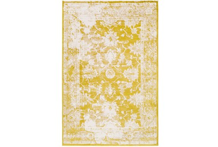 63X90 Rug-Fields Antique Yellow