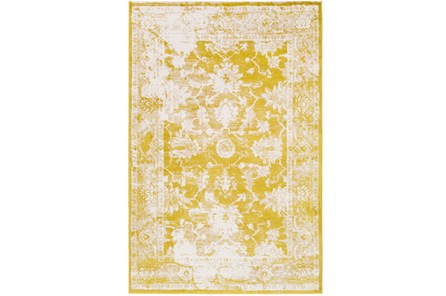 63X90 Rug-Fields Antique Yellow - Main