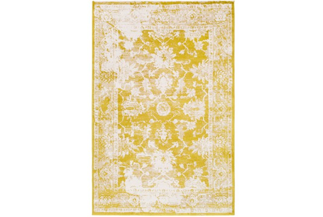 63X90 Rug-Fields Antique Yellow - 360