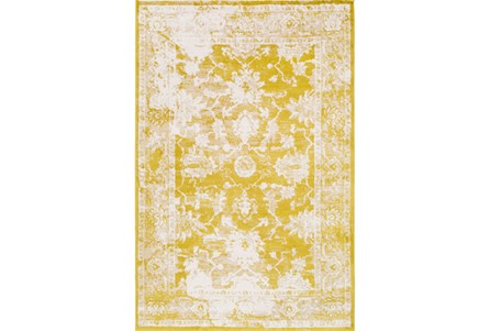 96X120 Rug-Fields Antique Yellow