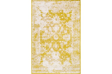 96X120 Rug-Fields Antique Yellow - Main