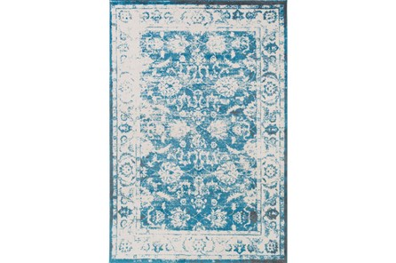63X90 Rug-Fields Antique Blue