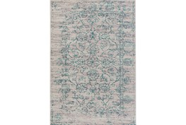 22X35 Rug-Nella Antique Damask Teal