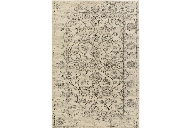 22X35 Rug-Nella Antique Damask Light Grey - 360