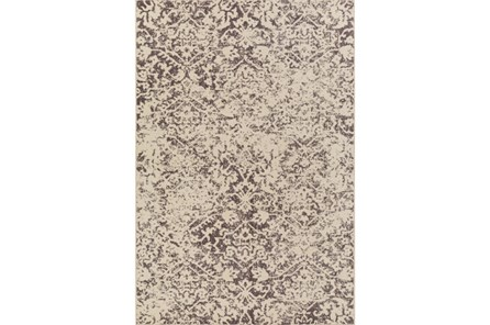 106X153 Rug-Nella Antique Traditional Light Grey
