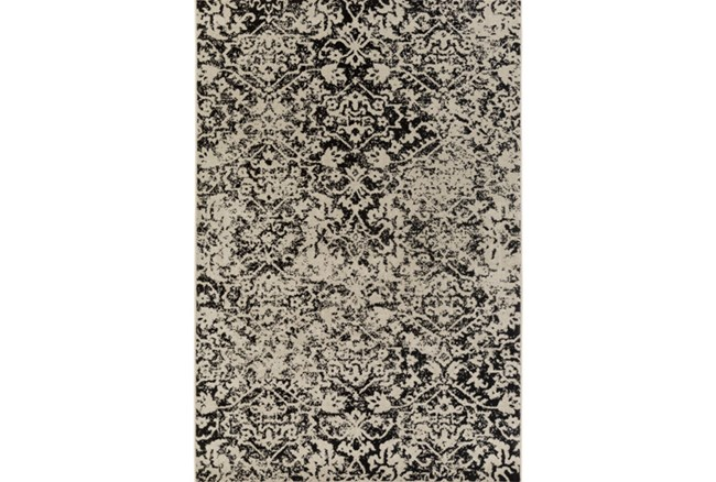63X87 Rug-Nella Antique Traditional Charcoal - 360