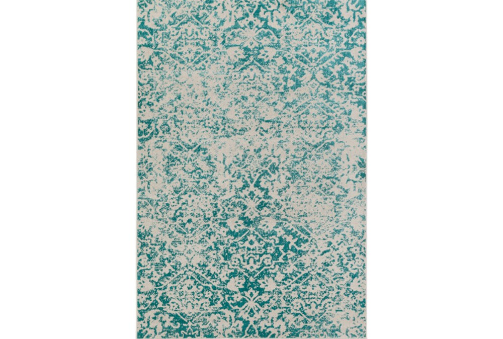 106X153 Rug-Nella Antique Traditional Teal