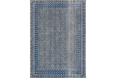 94X123 Rug-Amori Border Grey/Blue