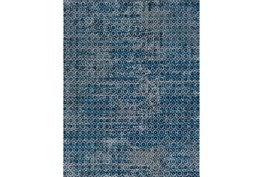 63X87 Rug-Amori Criss Cross Dark Blue/Teal