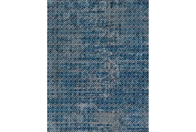 63X87 Rug-Amori Criss Cross Dark Blue/Teal - 360