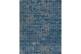 94X123 Rug-Amori Criss Cross Dark Blue/Teal