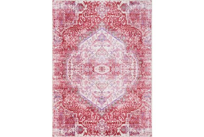 31X79 Rug-Odette Medallion Bright Pink - 360