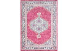 94X123 Rug-Mckenna Bright Pink