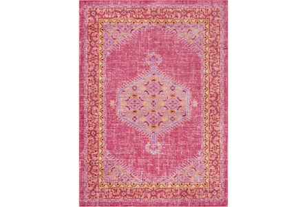 47X67 Rug-Mckenna Bright Pink/Orange