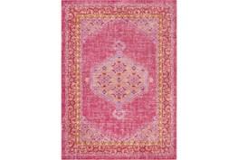 94X123 Rug-Mckenna Bright Pink/Orange