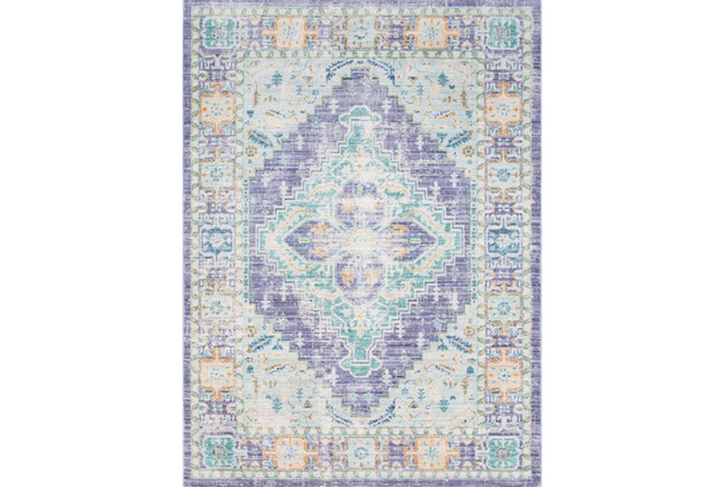 24X36 Rug-Odette Purple/Teal - 360
