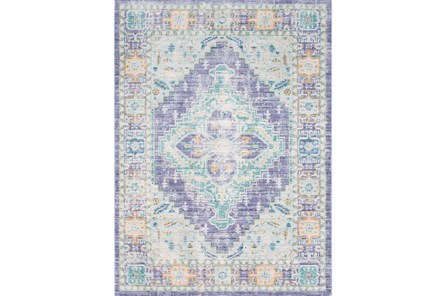 63X90 Rug-Odette Purple/Teal