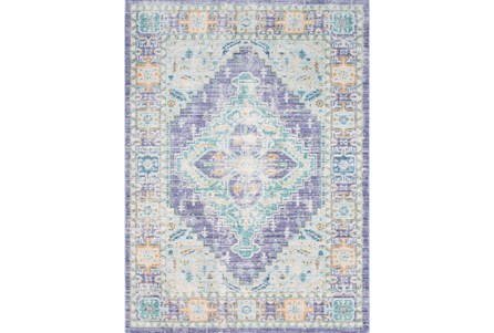 94X123 Rug-Odette Purple/Teal