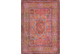 94X123 Rug-Gypsy Star Bright Pink