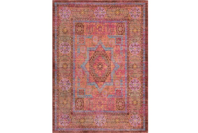 94X123 Rug-Gypsy Star Bright Pink - 360