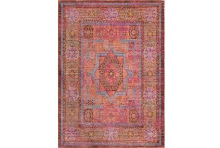 108X142 Rug-Gypsy Star Bright Pink