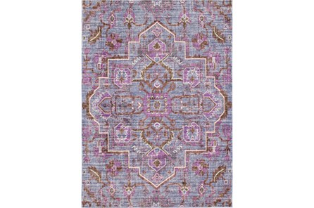 94X123 Rug-Gypsy Purple