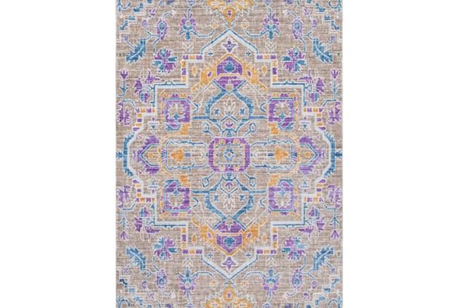 63X90 Rug-Gypsy Purple/Blue/Yellow - 360