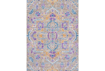 94X123 Rug-Gypsy Purple/Blue/Yellow