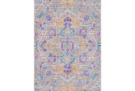 108X142 Rug-Gypsy Purple/Blue/Yellow