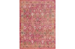 47X67 Rug-Gypsy Border Bright Pink