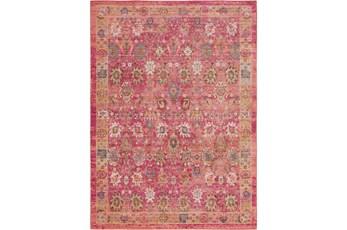 63X90 Rug-Gypsy Border Bright Pink