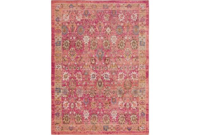 94X123 Rug-Gypsy Border Bright Pink - 360