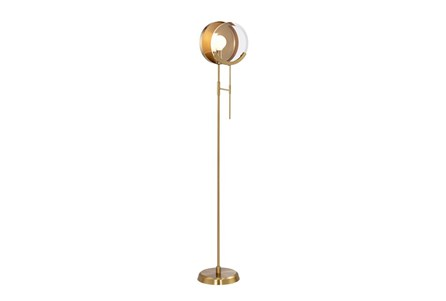 Floor lamp looking glass