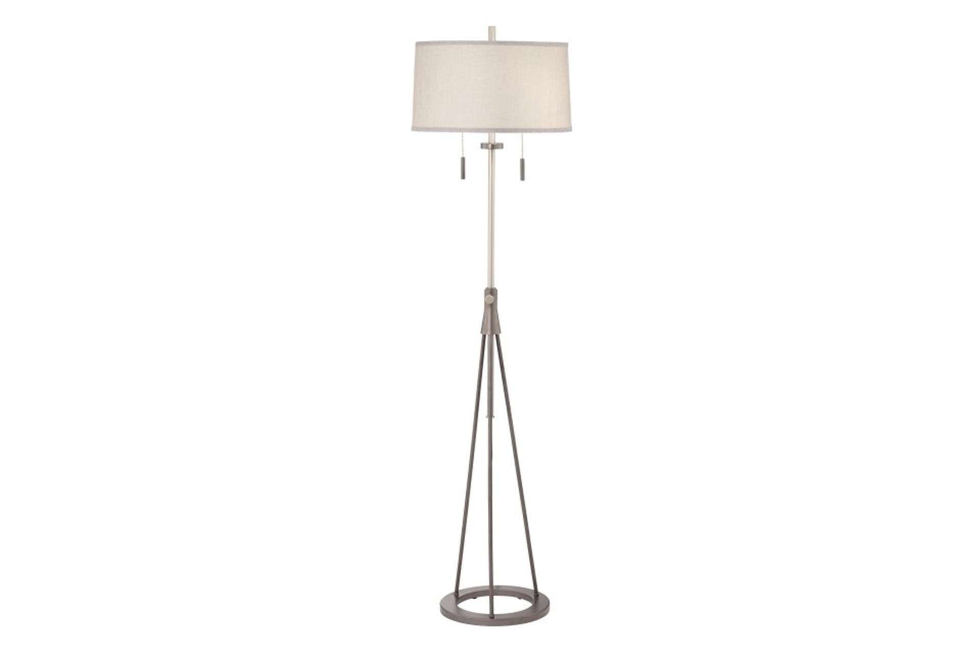 living spaces floor lamps floor lamppolished chrome swing arm 360 living spaces