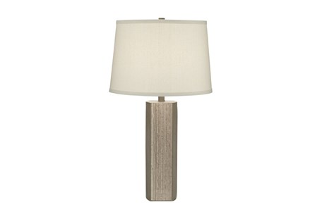 Table Lamp-Greystone Column
