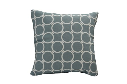 Accent Pillow-Graphite Links 18X18