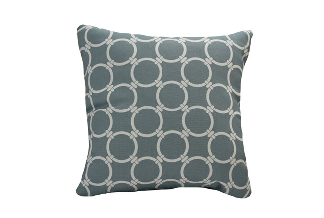 Accent Pillow-Graphite Links 18X18 - 360