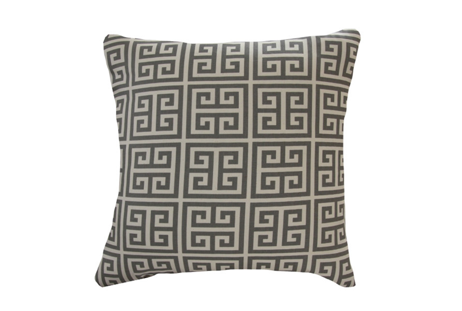 Accent Pillow Greek Key Grey 18x18 Qty 1 Has Been Successfully Added To Your Cart