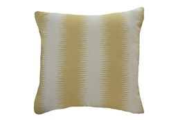 Accent Pillow-Seismic Wave Yellow 18X18