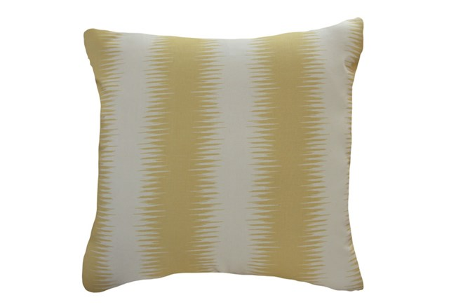Accent Pillow-Seismic Wave Yellow 18X18 - 360
